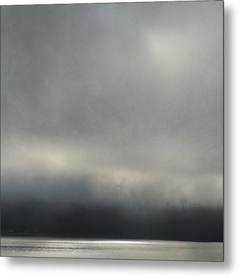 Metal Print featuring the photograph Blue Mood by Sally Banfill