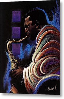 Blue Note Metal Print by Albert Fennell