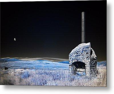 Blue Remembered Hills Metal Print