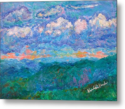 Blue Ridge Magic From Sharp Top Stage One Metal Print by Kendall Kessler