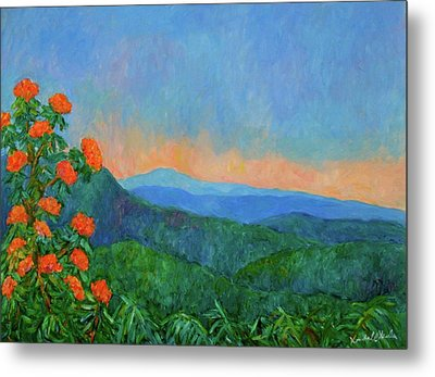 Blue Ridge Morning Metal Print