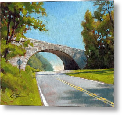 Blue Ridge Overpass Metal Print by Todd Baxter