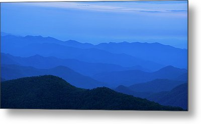 Blue Ridge Panorama Metal Print by Andrew Soundarajan