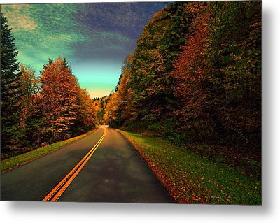 Blue Ridge Pkwy Metal Print by Dennis Baswell