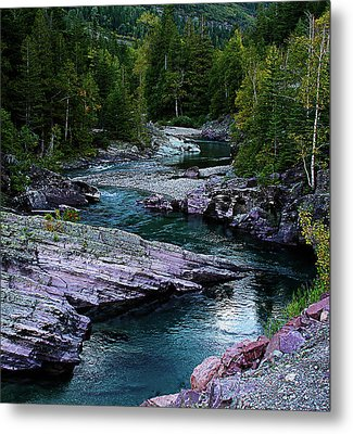 Blue River Metal Print