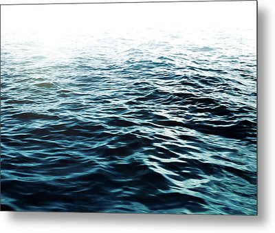Metal Print featuring the photograph Blue Sea by Nicklas Gustafsson