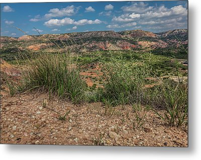 Blue Skies Over Palo Duro Canyon Metal Print