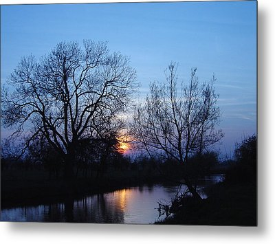Metal Print featuring the photograph Blue Sky by Elizabeth Lock