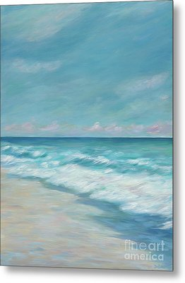 Blue Surf Metal Print by Danielle Perry