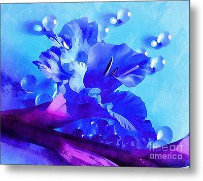 Blue Treasure Metal Print