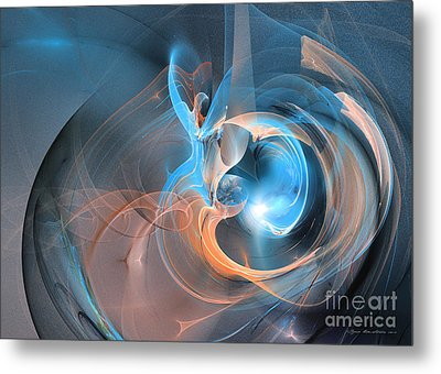 Blueberry Soul Metal Print by Sipo Liimatainen