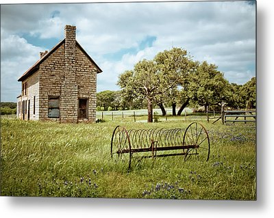 Metal Print featuring the photograph Bluebonnet Dreams by Linda Unger