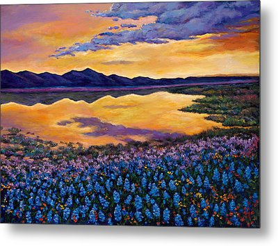 Bluebonnet Rhapsody Metal Print by Johnathan Harris