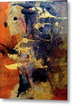 Bluegold 4 Metal Print