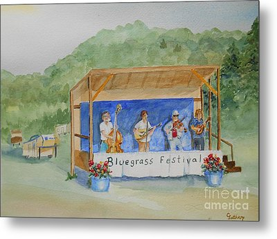 Bluegrass Festival Metal Print
