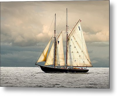 Bluenose Metal Print by Fred LeBlanc