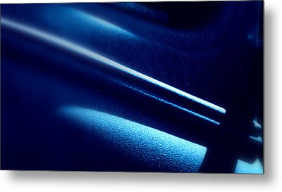 Metal Print featuring the photograph Blues.. by Al Swasey