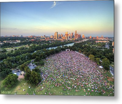 Blues On The Green With Bob Schneider Metal Print
