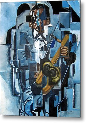 Blues Trane Metal Print