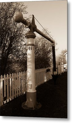 Blunsdon Station At Swindon And Cricklade Railway Metal Print