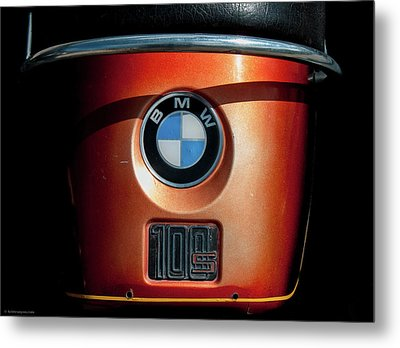 Metal Print featuring the photograph Bmw 100 S by Britt Runyon