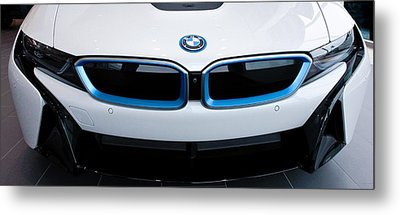 Metal Print featuring the photograph Bmw E Drive I8 by Aaron Berg