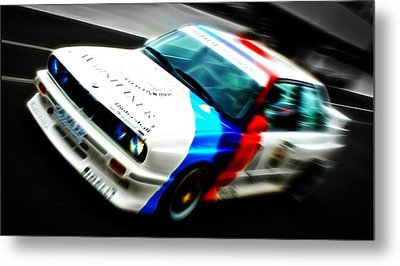 Bmw E30 M3 Racing Metal Print by Phil 'motography' Clark