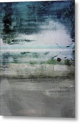 Boardwalk Blues 2- Art By Linda Woods Metal Print by Linda Woods