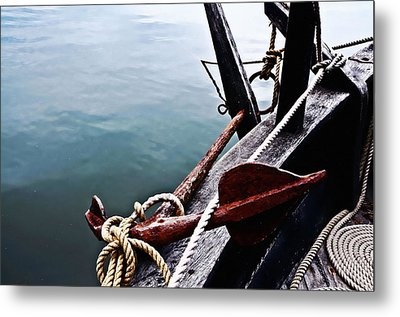 Boat Anchor Metal Print