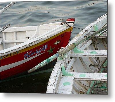 Boat Eye Metal Print by James Lukashenko