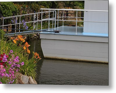 Boat House Metal Print by Ivete Basso Photography