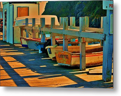 Boat Ride Metal Print by Helen Carson