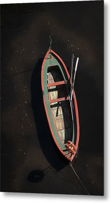 Boat Metal Print by Silvia Bruno
