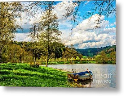 Boating On Golden Pond 254  Metal Print