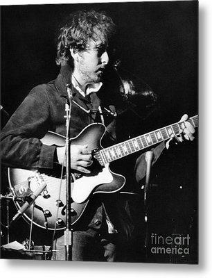 Bob Dylan (1941- ) Metal Print by Granger