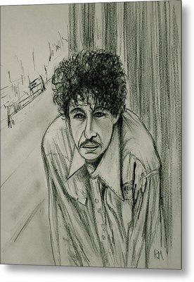 Bob Dylan Metal Print by Pete Maier