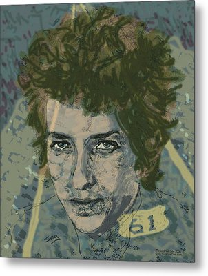 Bob Dylan's Highway 61 Metal Print