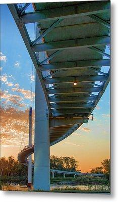Bob Kerry Bridge At Sunrise-2 Metal Print