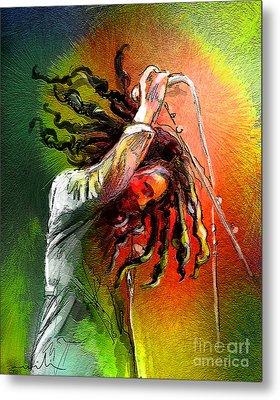 Bob Marley 07 Metal Print