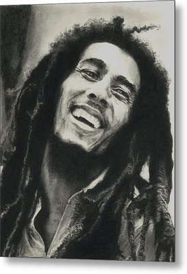 Bob Marley Metal Print by Dan Lamperd