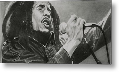 Bob Marley Metal Print by Don Medina