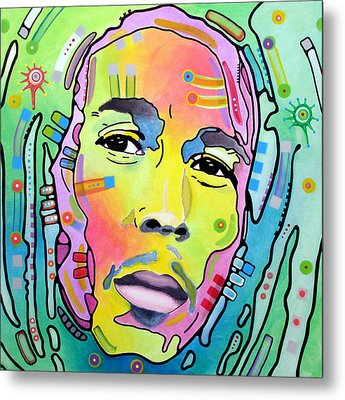 Metal Print featuring the painting Bob Marley I by Dean Russo