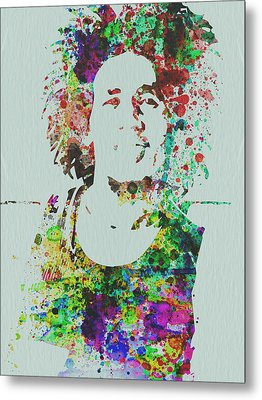 Bob Marley Music Legend Metal Print