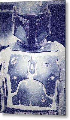 Boba Fett Costume 36 Metal Print by Micah May
