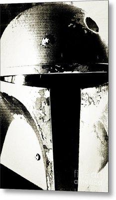Boba Fett Helmet 22 Metal Print by Micah May