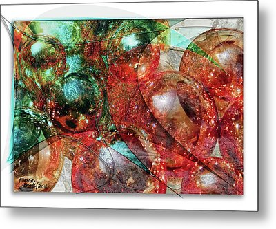 Bobbles And Balls Metal Print by Monroe Snook