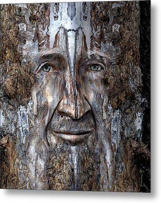 Bobby Smallbriar Metal Print by Rick Mosher