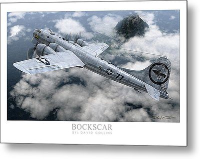 Bockscar  Metal Print by David Collins