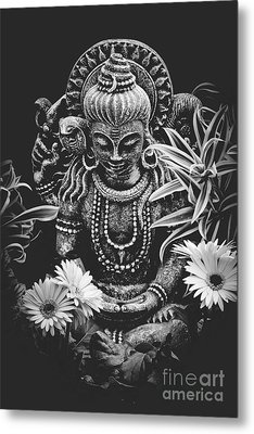 Metal Print featuring the photograph Bodhisattva Parametric by Sharon Mau