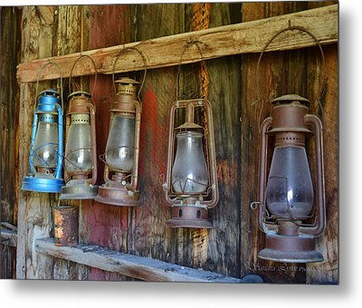 Bodie Blue Light Special Metal Print